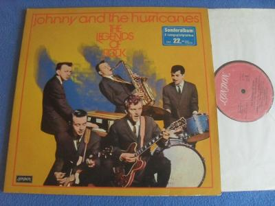 LP JOHNNY AND THE HURRICANES -- The Legends of Rock 2 LP