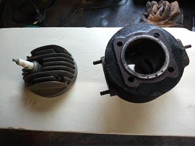 válec s hlavou na motor OPP Domažlice