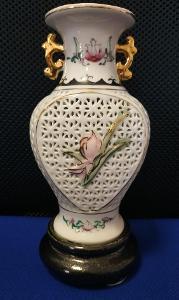 Porcelánová dekorace - amfora