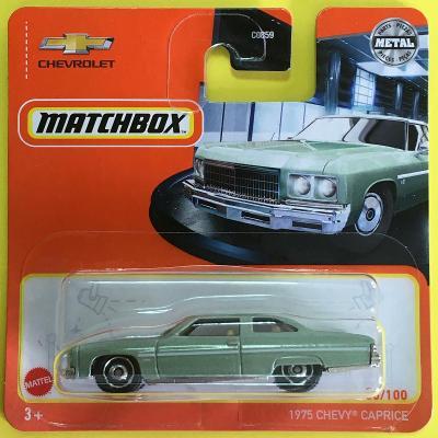1975 Chevy Caprice - Matchbox 2021 86/100 (MB2-3)