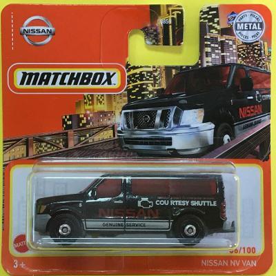 Nissan NV Van - Matchbox 2021 66/100 (E8-m66)
