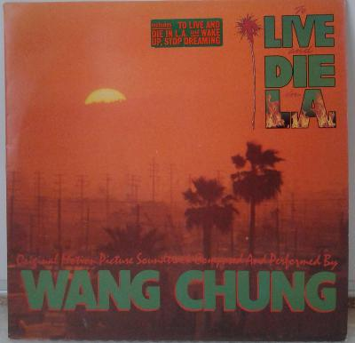 LP Wang Chung – To Live And Die In L.A., 1985 EX