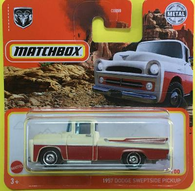 1957 Dodge Sweptside Pickup - Matchbox 2021 2/100 (E8-m2)