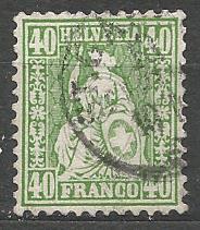 Švýcarsko - razít,Mi.č.26  /1685D/