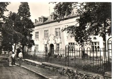 Pohlednice - Dvorce u Bruntálu - Léčebný dům