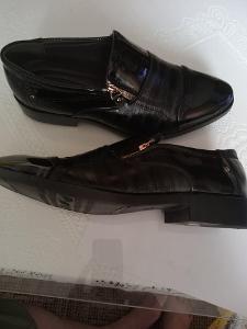 Pánské boty černé vel. 40 stélka 27 cm nové