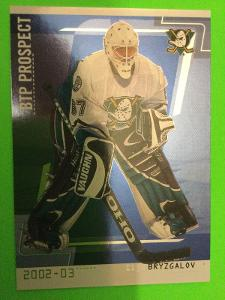 2002-03 In the Game Be A Player Between the Pipes #83 Ilja Bryzgalov