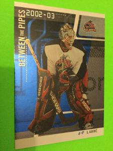 2002-03 In the Game Be A Player Between the Pipes #64 J-F Labbé