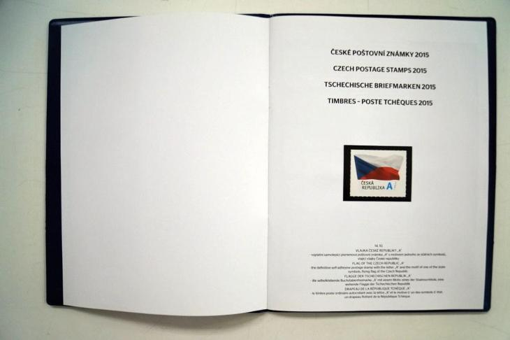 KOMPLETNÍ ROČNÍKOVÉ ALBUM 2015, VŠE NAFOCENO (S2655) - Filatelie