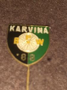 Odznak Závod Míru BPW Karviná 1968 - cyklistika
