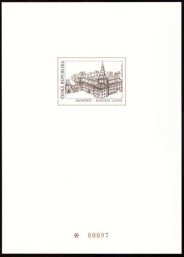 POF. PTR 9 - PŘÍLEŽITOSTNÝ TISK KROMĚŘÍŽ Z ROČ. ALBA 2001 (S2690) - Filatelie