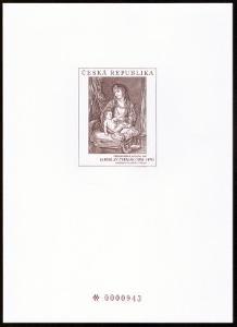 POF. PTR 14 - PŘÍLEŽITOSTNÝ TISK MADONA Z ROČ. ALBA 2006 (S2698)