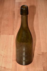 pivní lahev Warnsdorf