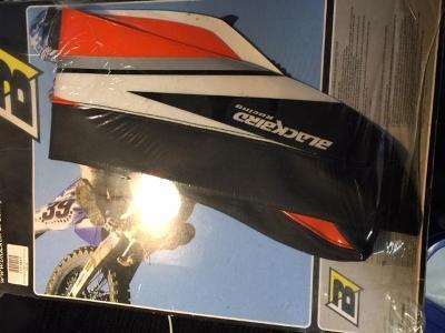 Potah sedla BLACKBIRD KTM SX/EXC