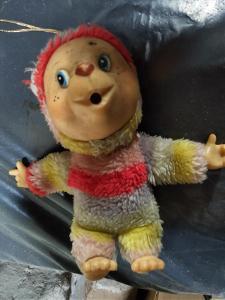 Stará retro hračka - Mončičák