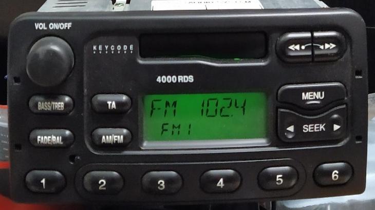 Autorádio Ford 5000 - TV, audio, video