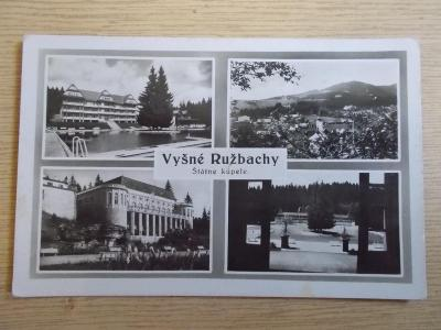 Slovensko Vyšné Ružbachy lázně kúpele
