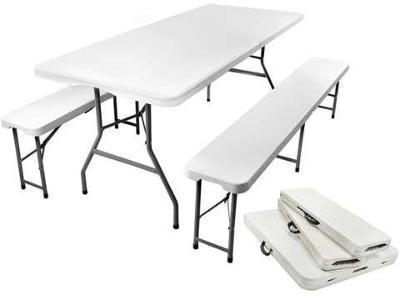 Skládací zahradní stůl 180 cm + 2 lavice + DAREK