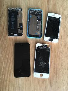 Mobilní telefony Apple iPhone 5/5c/5s - náhradní díly - NETESTOVÁNO