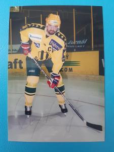 Foto Jiří Dopita s podpisem HC Vsetín