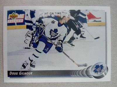 Doug Gilmour, Toronto Maple Leafs, #215, UD 1992/93