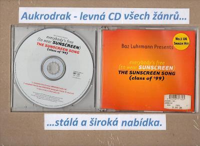 CDM/Baz Luhrmann-Everybody's Free (To Wear Sunscreen) The Sunscreen
