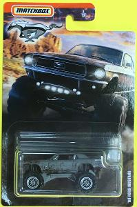 '68 Ford Mustang - Matchbox Ford Mustang Series 3/12 (MB2-20)