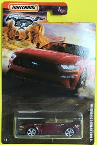 ´18 Ford Mustang Convert. - Matchbox Ford Mustang Series 1/12 (MB2-21)