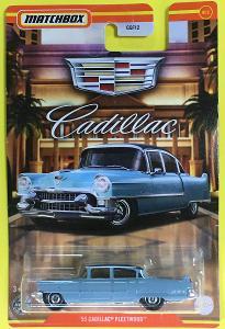 '55 Cadillac Fleetwood - Matchbox 2021 Cadillac Series 9/12 (MB2-27)