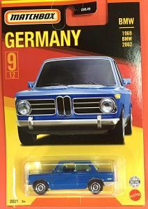 1969 BMW 2002 - Matchbox 2021 Stars of Germany 9/12 (MB3-1)