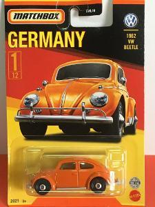 1962 VW Beetle - Matchbox 2021 Stars of Germany 1/12 (MB3-2)