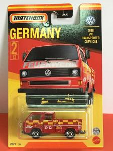 1990 VW Transporter s nákladem, Matchbox Stars of Germany 2/12 (MB3-5)