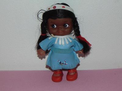 """Stará panenka """"Indiánka"""" do sbírky, kompletní"""