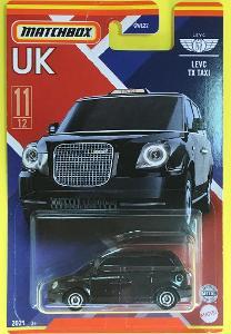 LEVC TX Taxi - Matchbox 2021 Stars of UK 11/12 (MB3-8)
