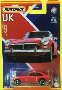 1971 MGB GT Coupe - Matchbox 2021 Stars of UK 9/12 (MB3-9)