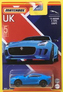 '15 Jaguar F-Type Coupe - Matchbox 2021 Stars of UK 5/12 (MB3-10)