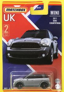 2011 Mini Countryman - Matchbox 2021 Stars of UK 2/12 (MB3-11)