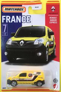 Renault Kangoo Express - Matchbox 2021 Stars of France 7/12 (MB3-14)