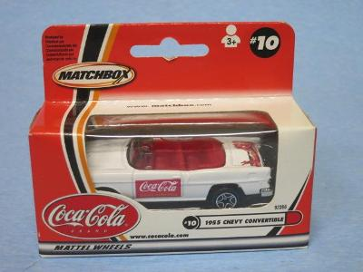 MATCHBOX - CHEVROLET BEL AIR 1955 CABRIO - COCA COLA
