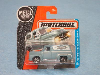 MATCHBOX 2016 - FORD F-100 1955 DELIVERY TRUCK
