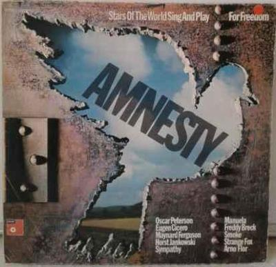 LP Various - Amnesty • Stars Of The World Sing And Play For Freedom