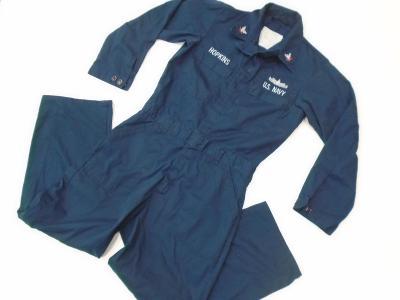 Originální modrá  námořní kombinéza US Navy, nová/použitá