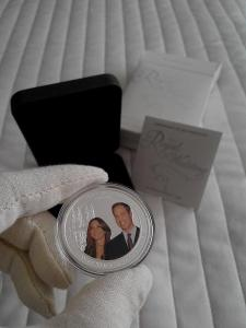 Stříbrná mince Proof 2011 Royal Wedding