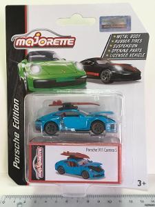Porsche 911 Carrera S - modrá Miami - Deluxe Majorette 1/60 (H11-x)