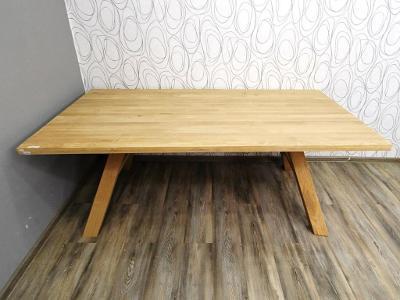 Luxusní jídelní stůl dub masiv (20605B) DOPRAVA ZDARMA