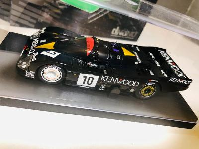 Model auto Porsche 962 C Le Mans 1986 Kyosho 1:43 (Minichamps, Spark