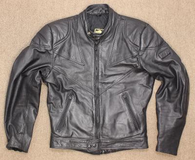 pánská kožená motorkářská bunda iXS vel. M/48 #3b14