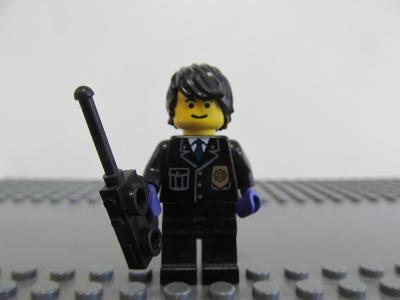 Lego figurka policista policie