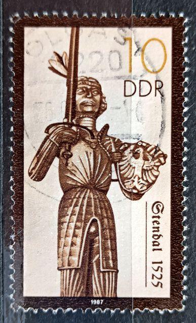 DDR: MiNr.3063 Stendal (1525) 10pf 1987