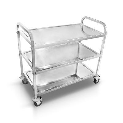 Servírovací vozík nerezový 3 patrový (10216)